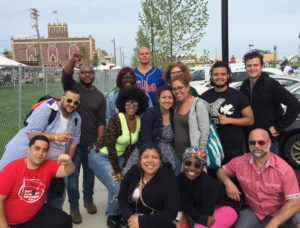 Supporters of the La Riva/Puryear campaign mobilized to do outreach at LGBTQ Pride in Asbury Park and Newark.