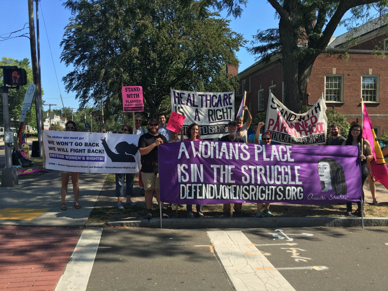 Photo of Women's Equality Day action defends reproductive healthcare
