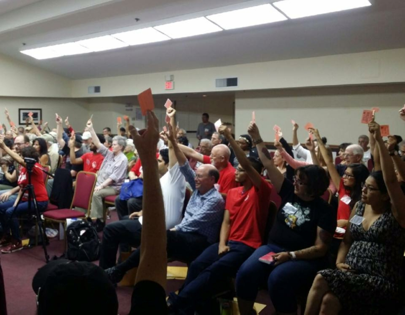 Photo of California Peace and Freedom Party chooses Gloria La Riva, Dennis Banks as President, VP candidates