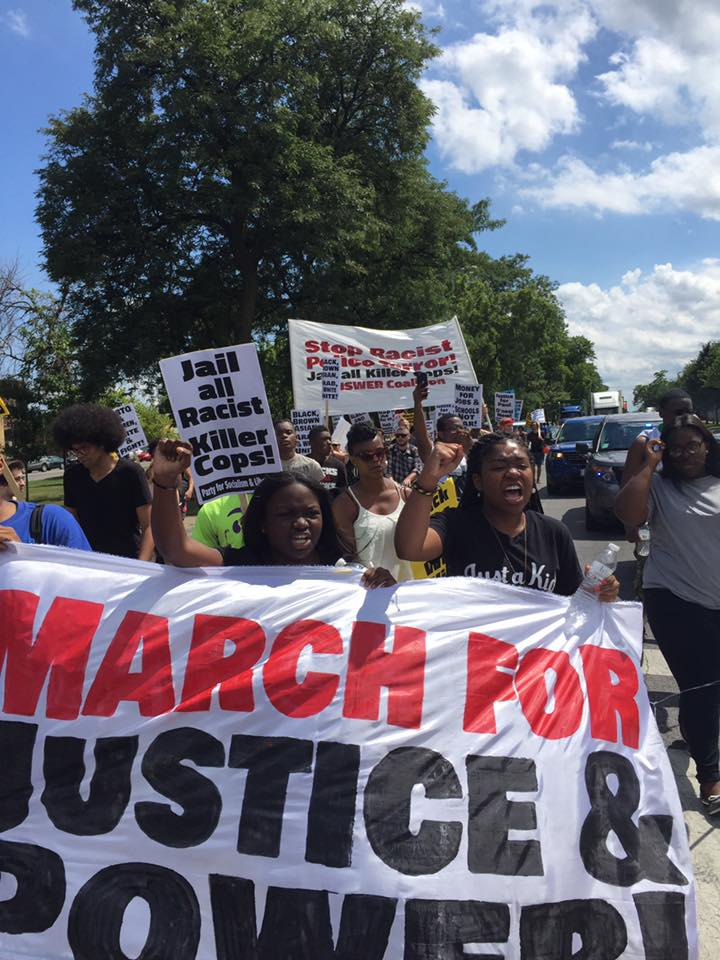 Photo of Chicago marches for Black and Brown power