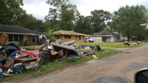 People of Baton Rouge confront crimes of capitalism after