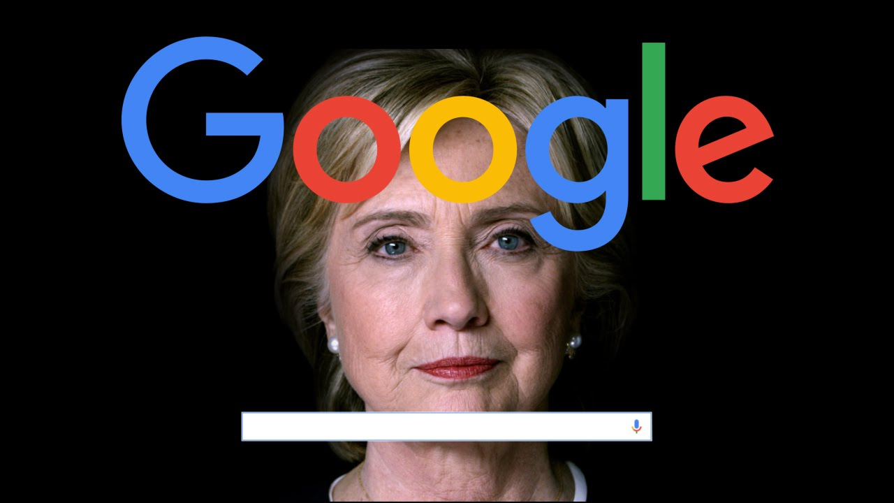 Confirmed: Google is trying to win elections for Hillary