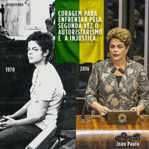Dilma trials - 1970 and 2016