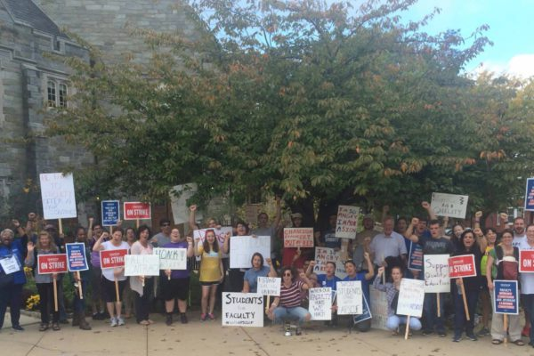 pennsylvania faculty strike student support 10/2016