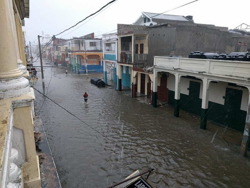 Photo of Hurricane Matthew devastates Haiti's southern peninsula
