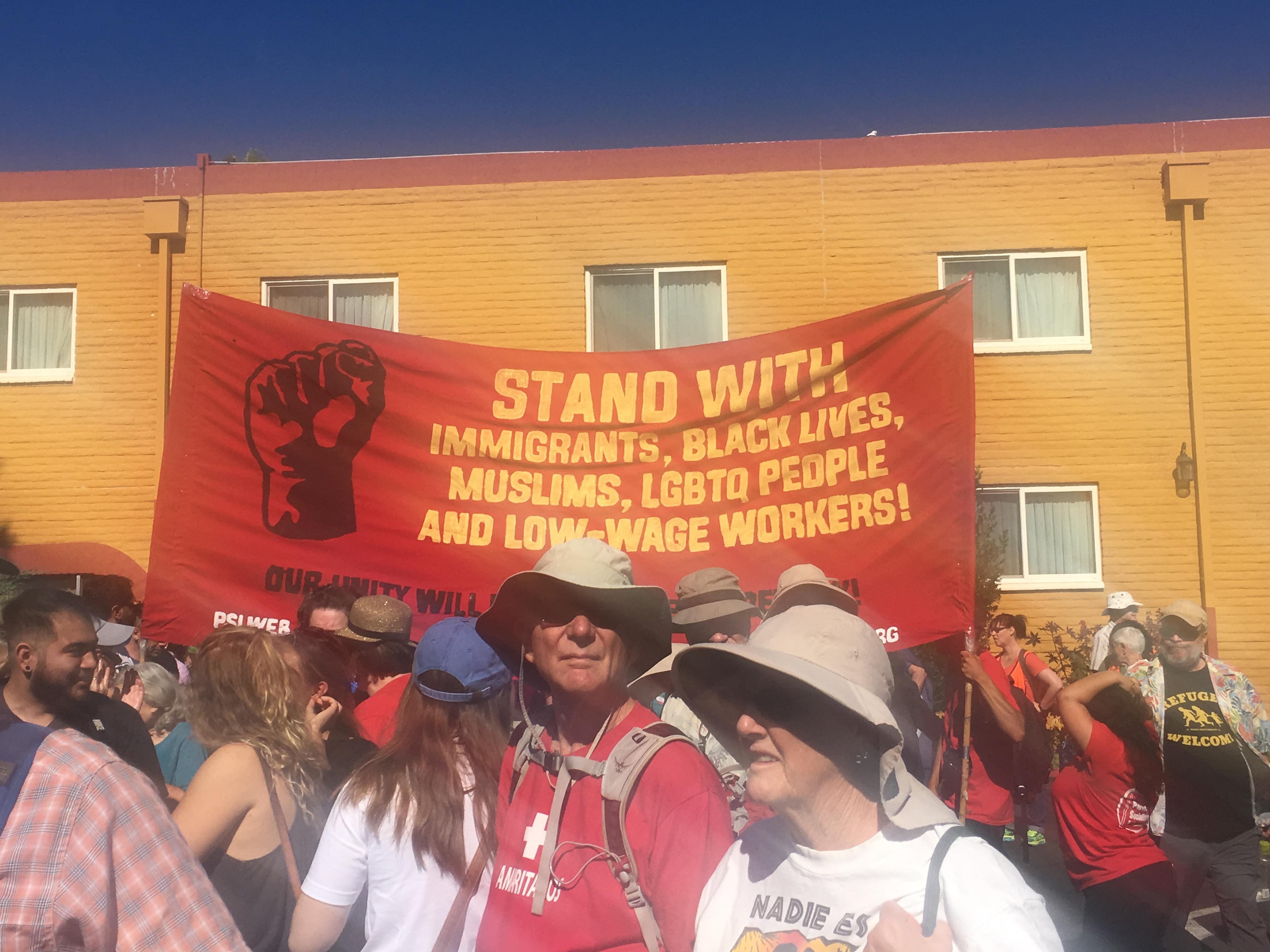 Photo of Mass action at U.S./Mexico border strengthens solidarity