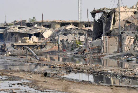 Ramadi in Anbar province 'reduced to rubble' | AFP PHOTO