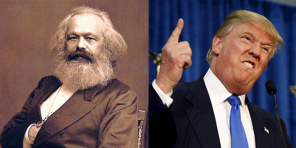 Marx explains why the ruling class does not want a President Trump