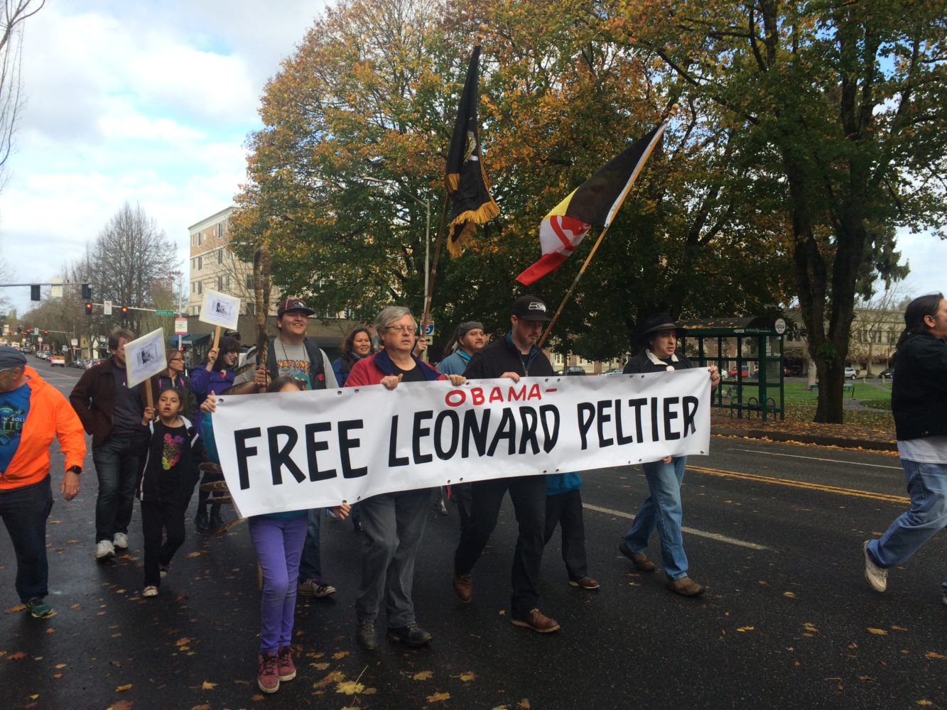 Photo of Demand clemency for Leonard Peltier