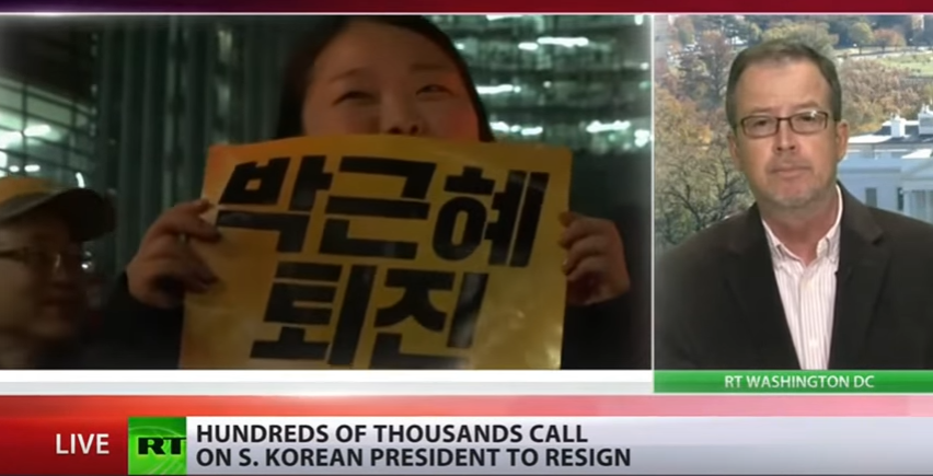 Photo of Video: South Korea protests may indicate that 'U.S. Asia pivot in shambles'