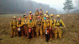 Prisoner firefighters