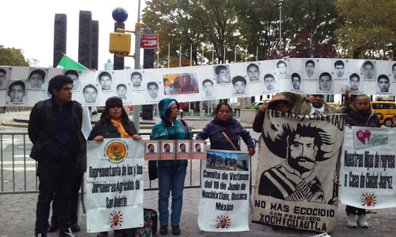Photo of Caravan Against Repression in Mexico comes to NYC