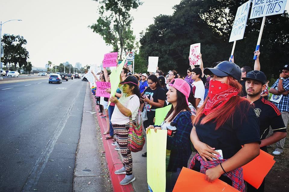 Photo of San Diego Masses Denounce Trump Presidency in Balboa Park