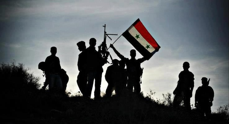 Photo of Aleppo fully liberated by Syrian government forces