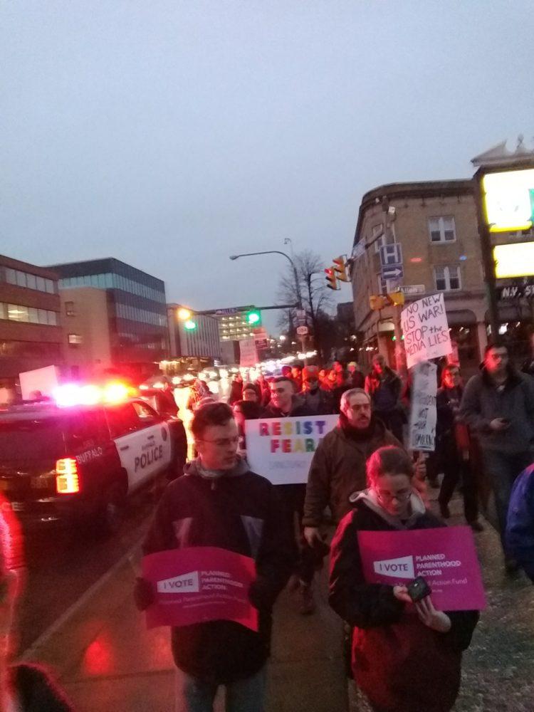 Photo of Buffalo opposes Paladino and Trump