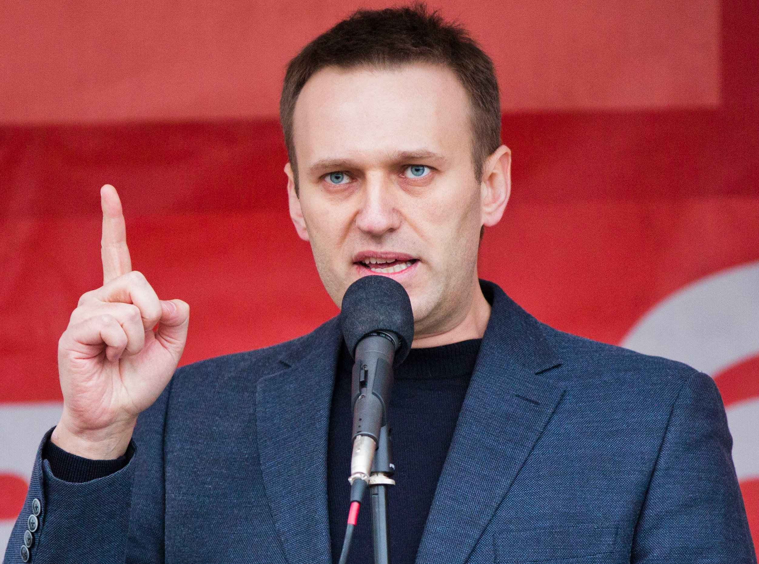 Anti-corruption protests in Russia led by right winger Alexei Navalny