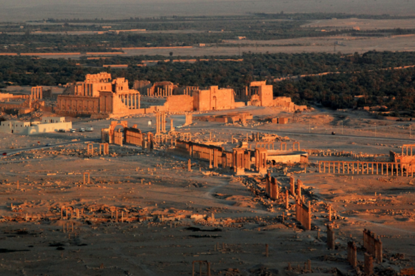 Palmyra, a UNESCO world heritage site