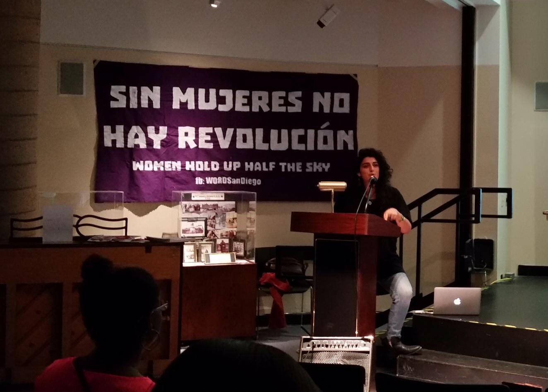 Photo of Revolutionary women speak up in San Diego
