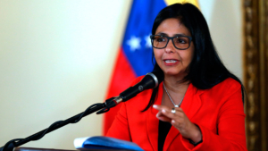 Venezuelan Foreign Minister Delcy Rodriquez