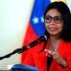 Ministro de Relaciones Exteriores de Venezuela, Delcy Rodríguez