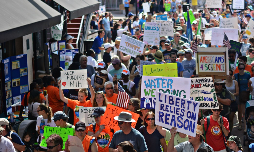 Photo of Jacksonville marches for science: The people demand progress