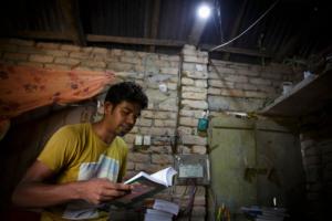 Solar powered home bangladesh