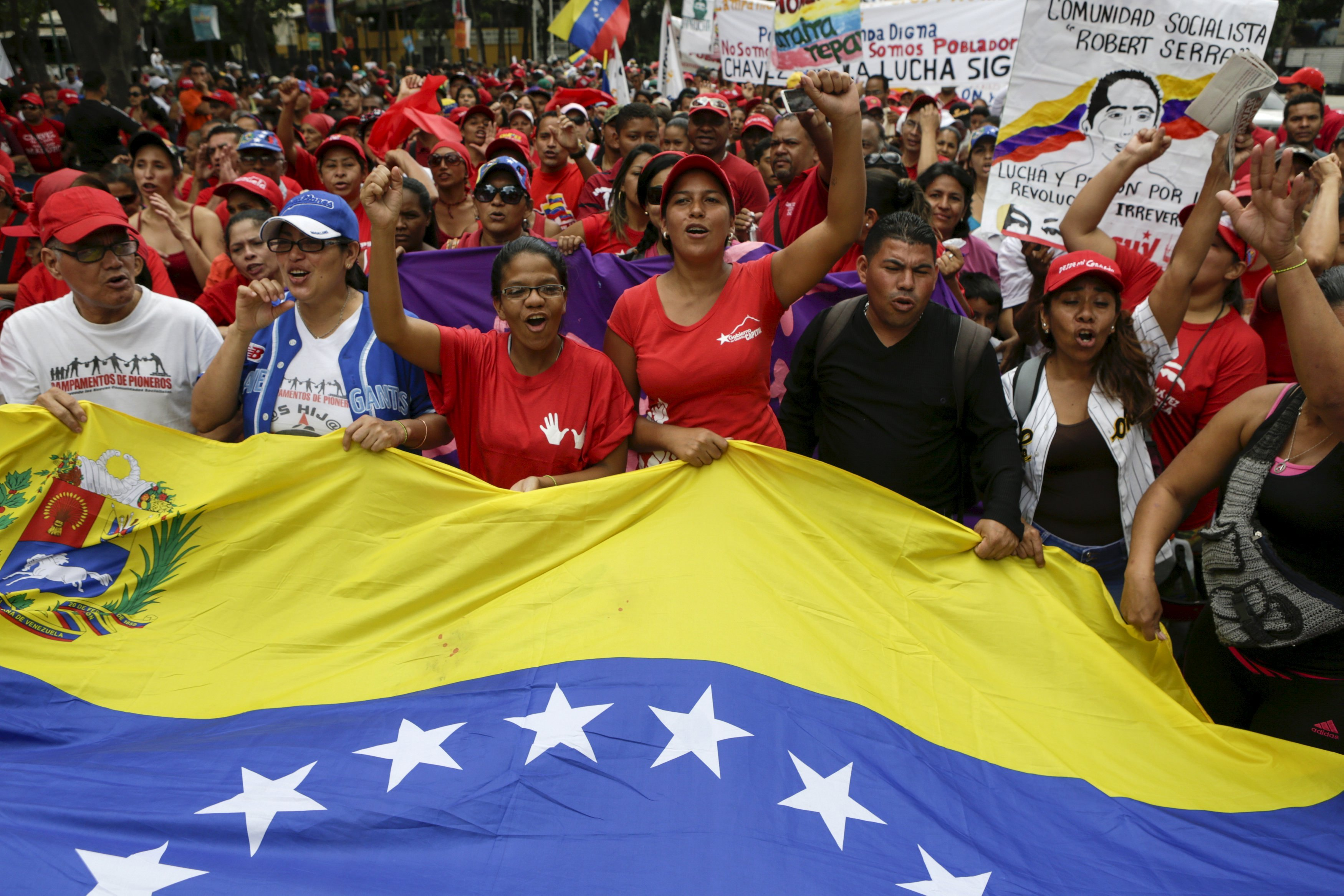 Solidarity with those fighting to defend Venezuela's Bolivarian Revolution!