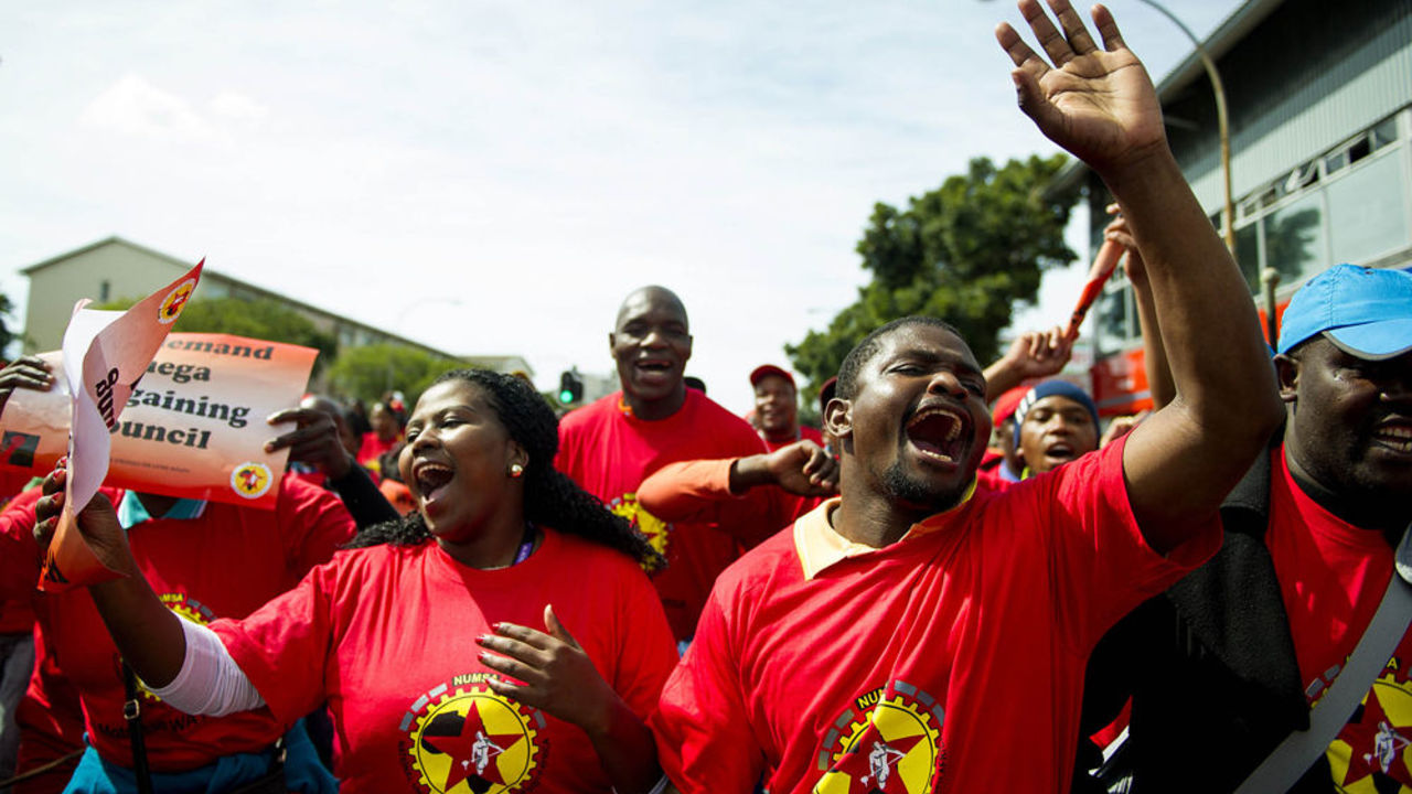 Photo of Declaration of the South African Federation of Trade Unions