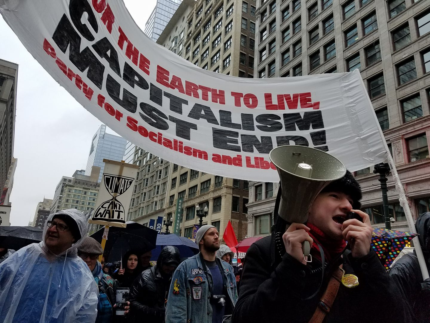 Photo of Thousands resist at People's Climate March in Chicago
