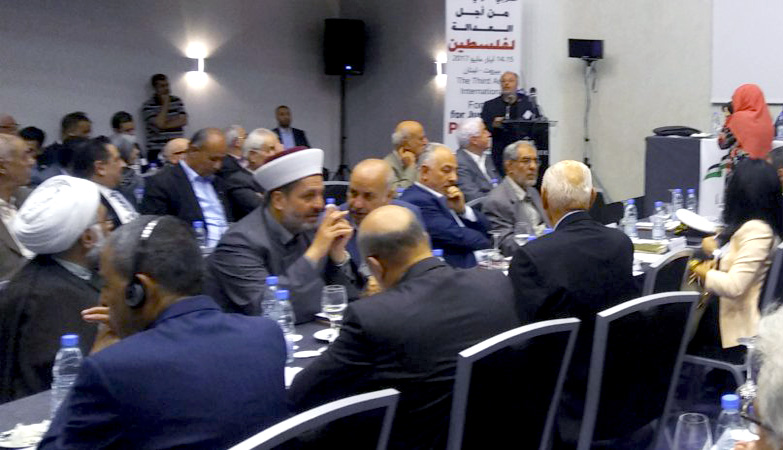 Delegates from 35 countries join Palestine solidarity conference in Beirut