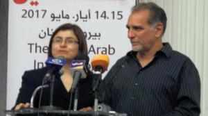 Rene Gonzalez of Cuban 5 speaks in solidarity with Palestinian hunger strikers, Photo: Radio Havana Cuba