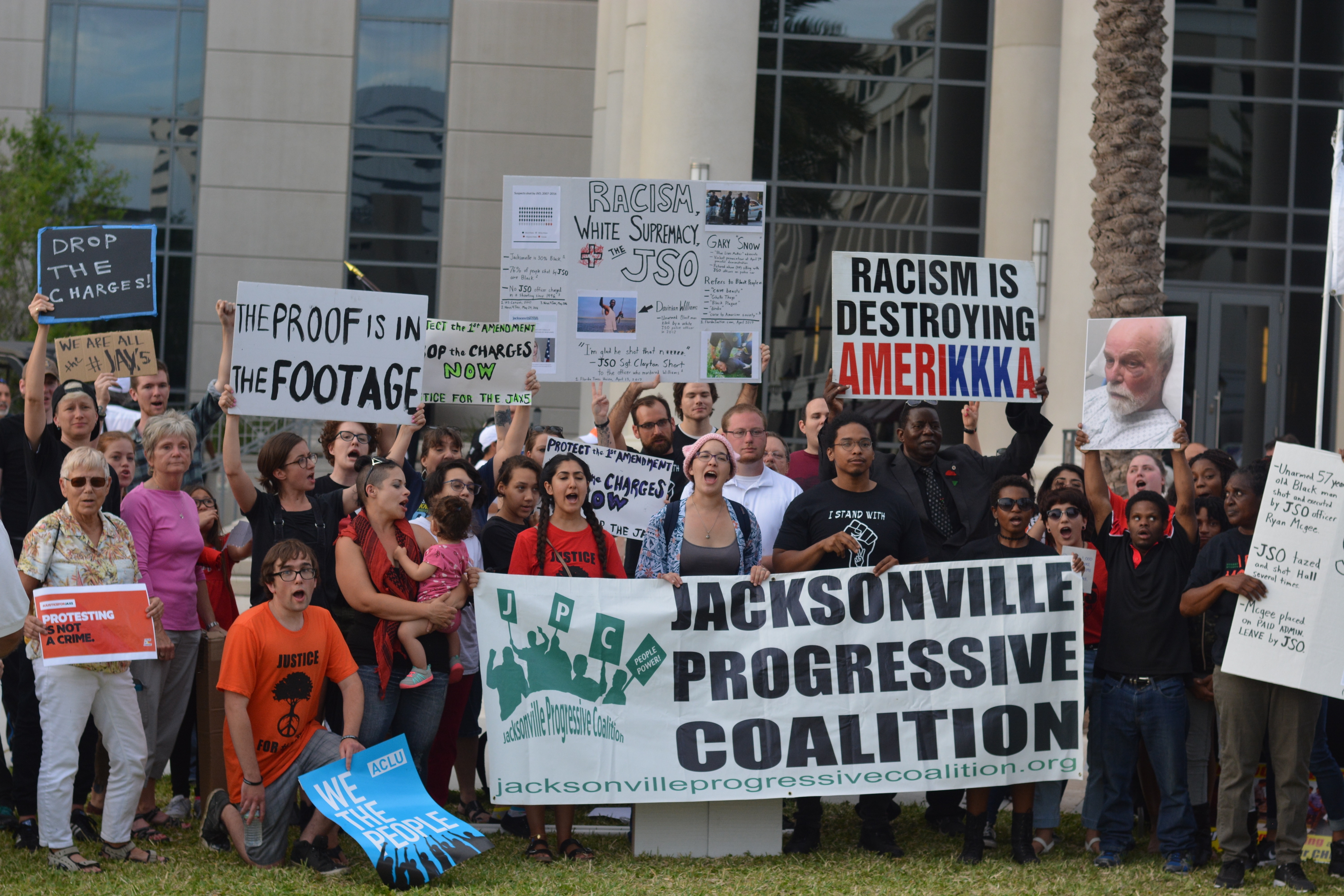 Photo of Jacksonville demands justice for the Jax5 on May Day