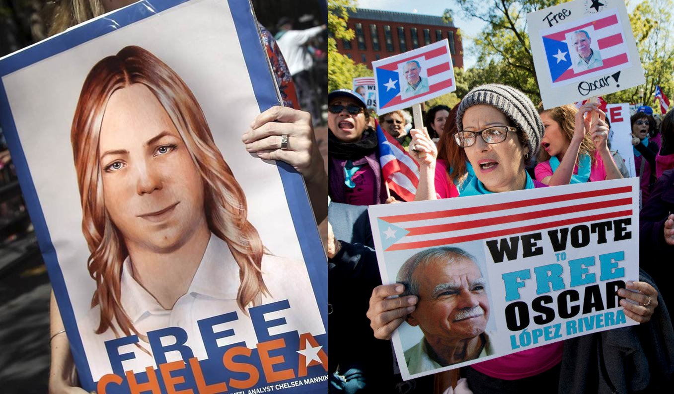 Movements win justice: Chelsea Manning and Oscar López Rivera are free!