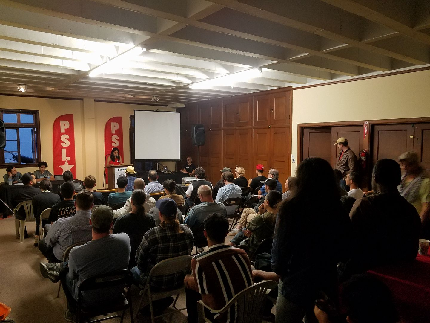 Photo of Los Angeles: PSL forum on Venezuela proceeds despite right-wing aggression