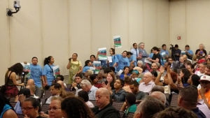 East Harlem community members emphatically reject rezoning plan