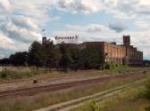 An abandoned Firestone factory