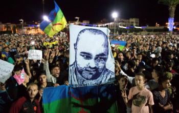 H08_Morocco_Protest