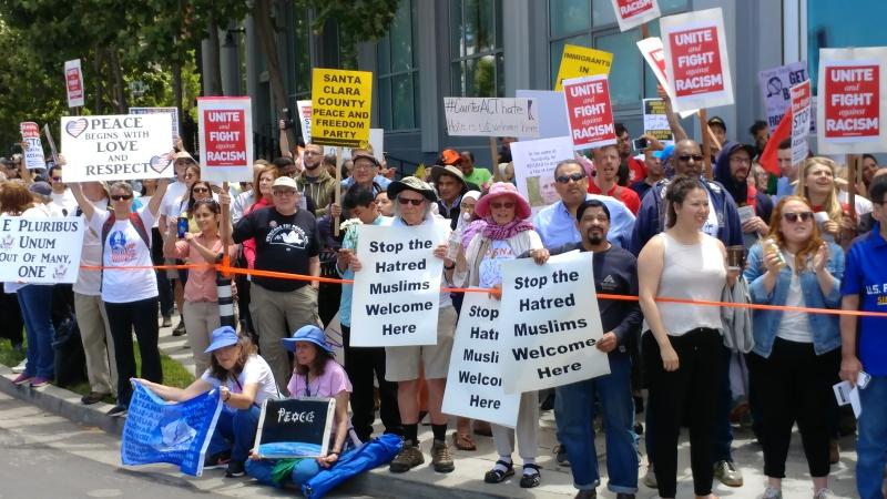 ACT xenophobes swamped in Santa Clara/San José standoff