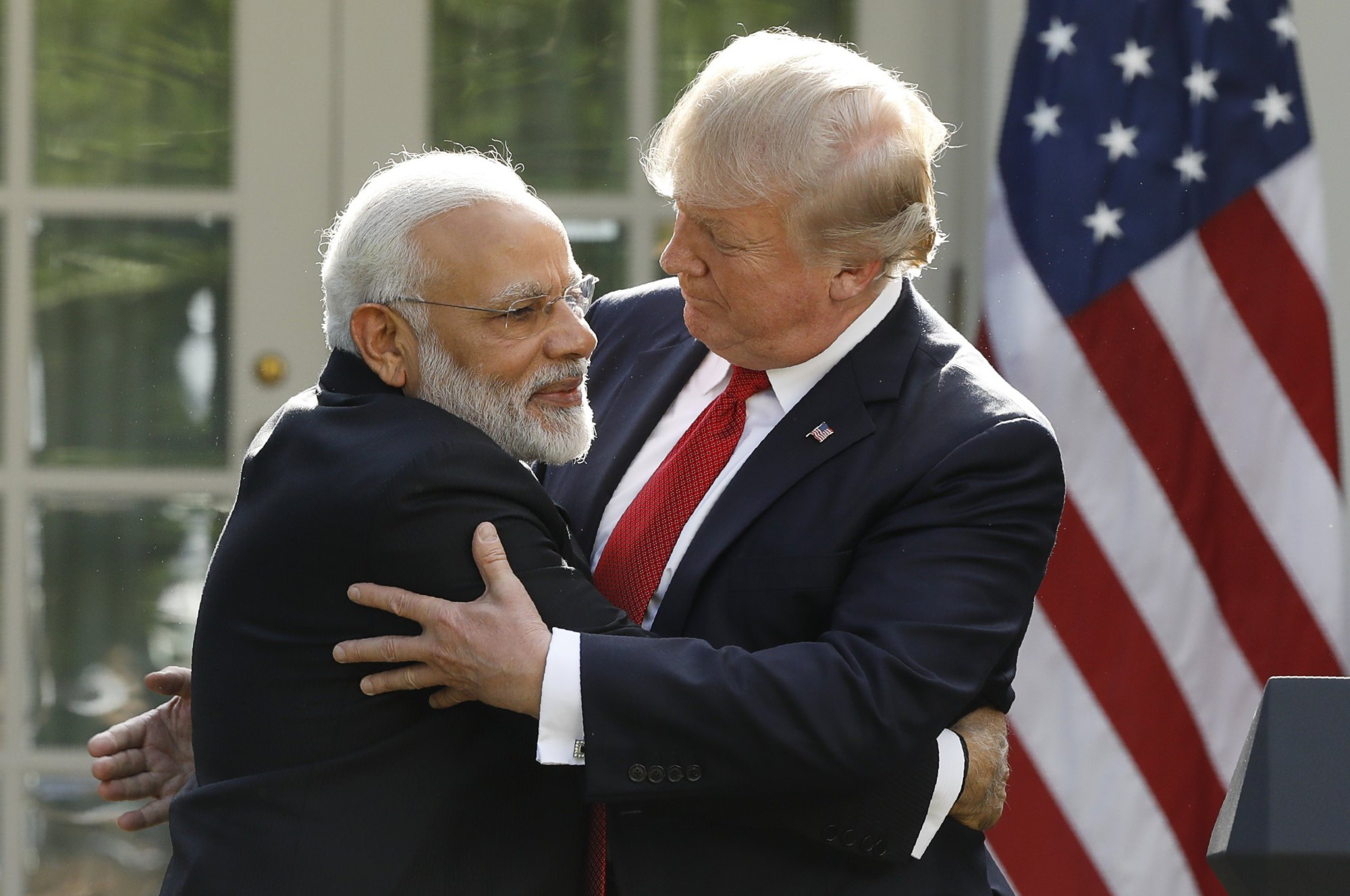 Photo of The meeting of Trump and Modi