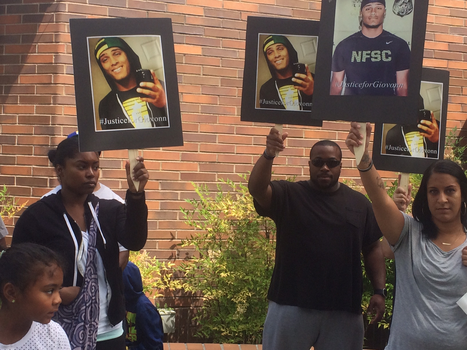 Photo of Family and friends demand justice for loved one slain by cops in Kent, Wa.
