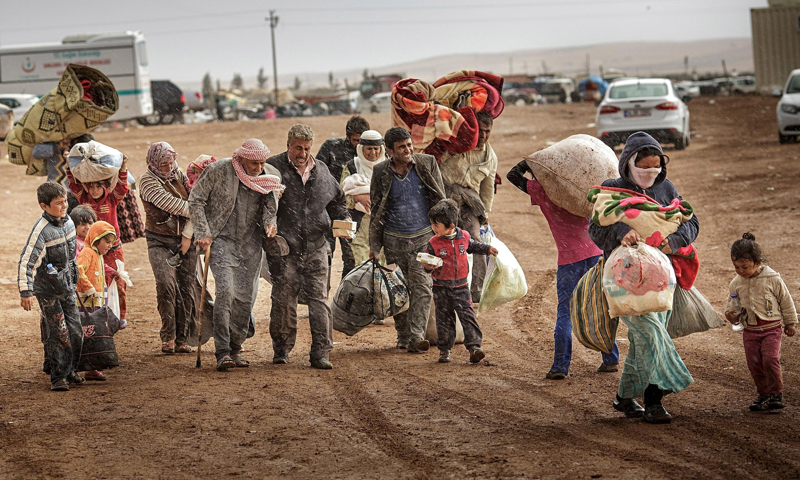 Photo of Half a million Syrians return home as Syrian gov't, allies liberate more areas