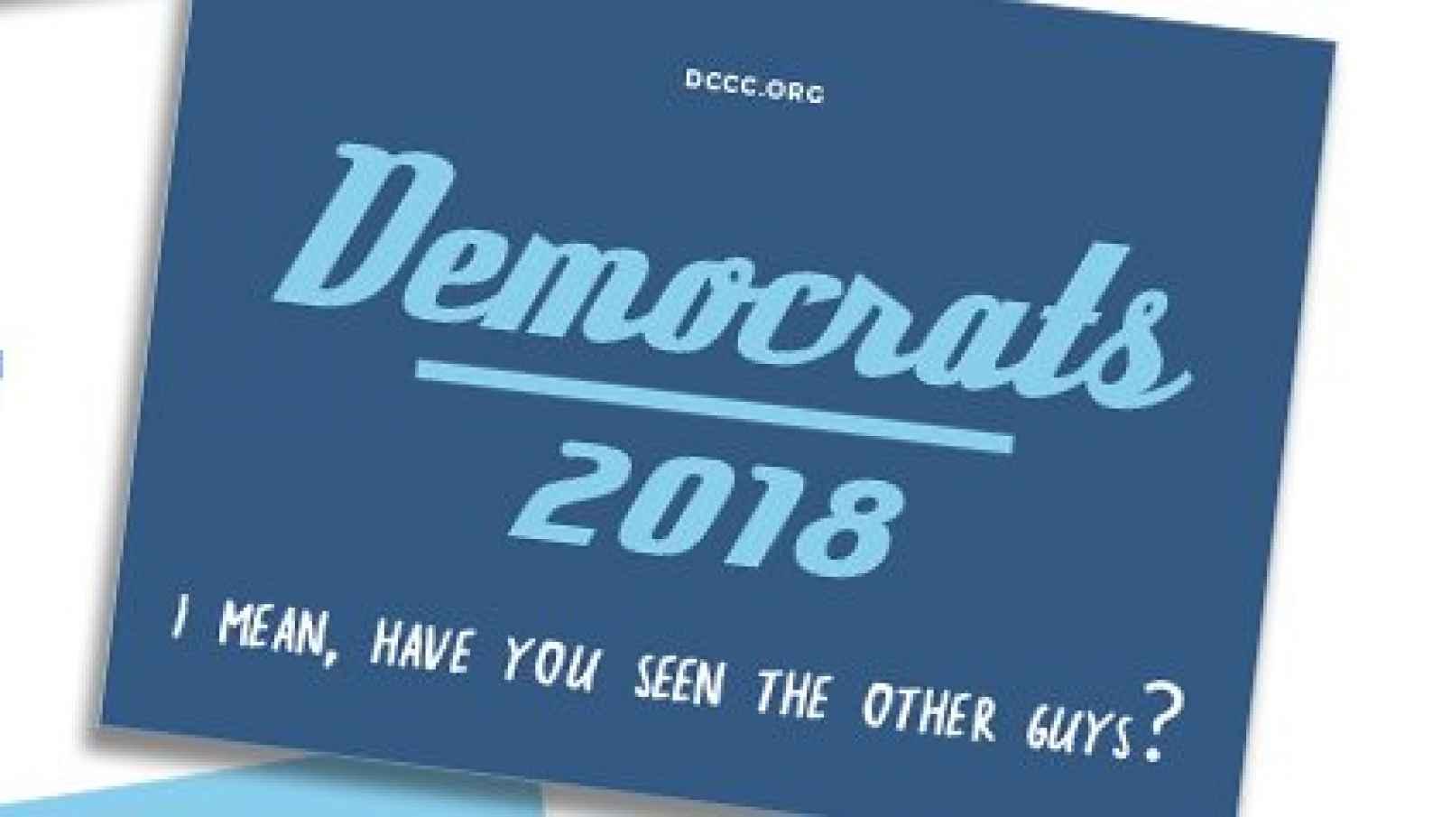 Photo of The Democrats' symptomatic new slogan