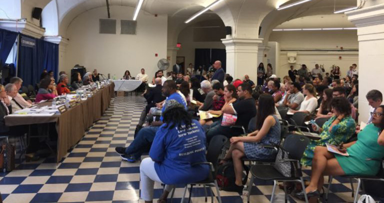 East Harlem residents tell NYC Commission: Racist rezoning—'No way!'