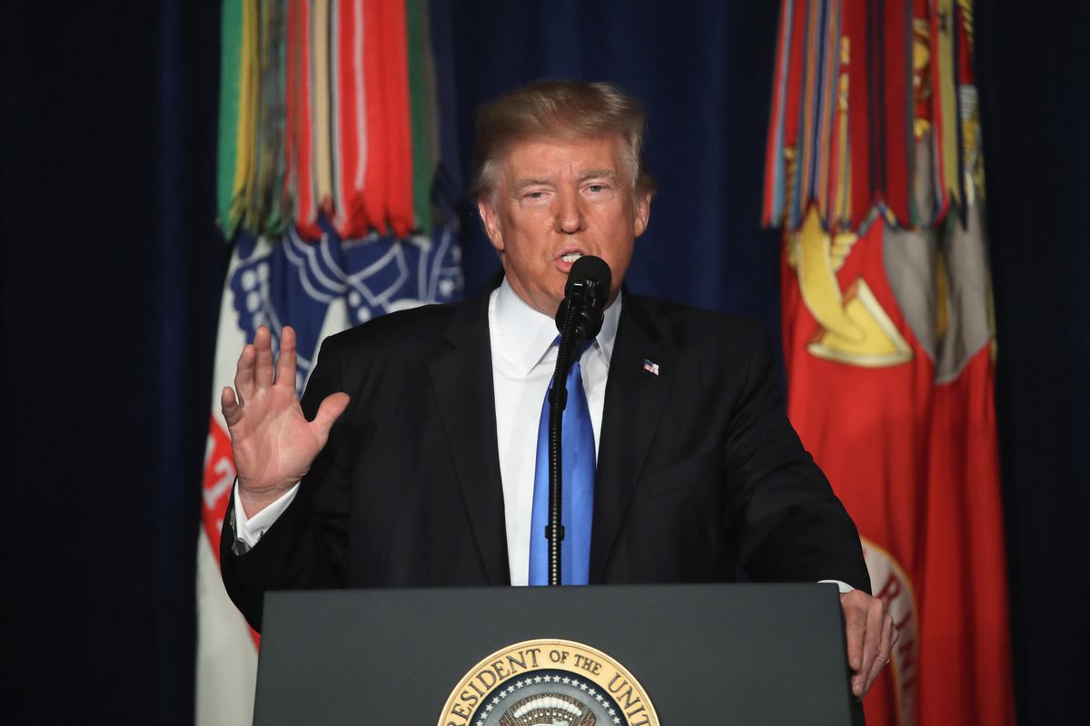 Photo of Trump announces Afghanistan war escalation