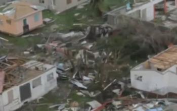 Damage to Barbuda caused by Irma