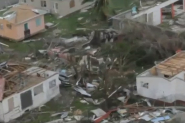 Damage to Barbuda caused by Irma