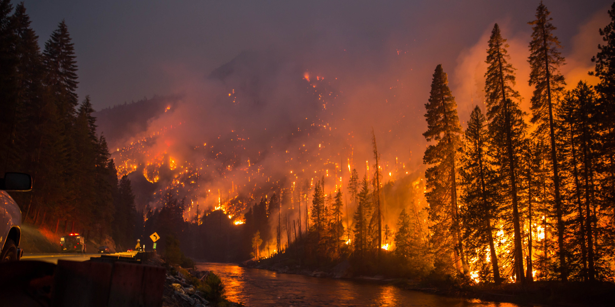 Photo of Wild fires devastating West Coast