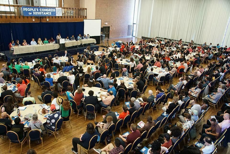 La inauguración del Congreso Popular de Resistencia reúne a líderes y organizadores de base bajo una visión revolucionaria