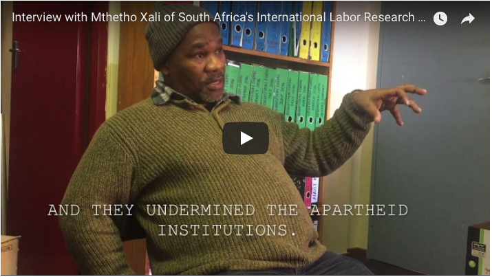 Photo of Interview: South African activists speak on new wave of class struggle