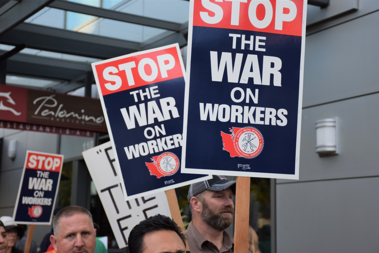 Photo of Wa. State workers denounce far-right, union-busting Freedom Foundation